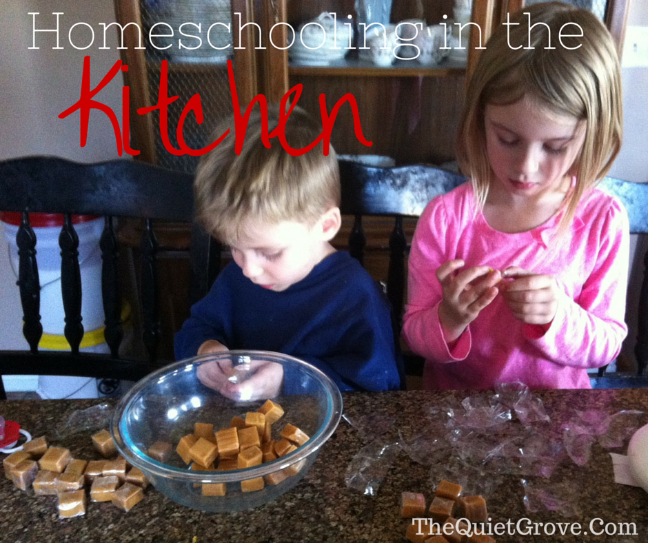 Homeschooling in the Kitchen