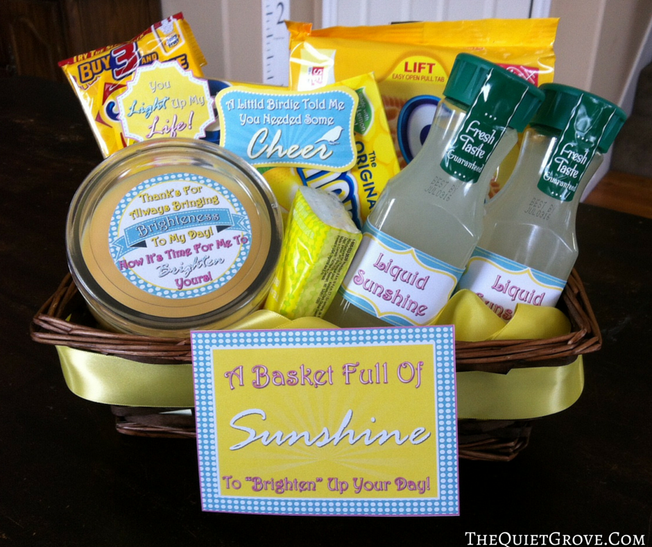 photograph about Basket of Sunshine Printable titled How towards Build Your Particular Sun Basket with Absolutely free Printables