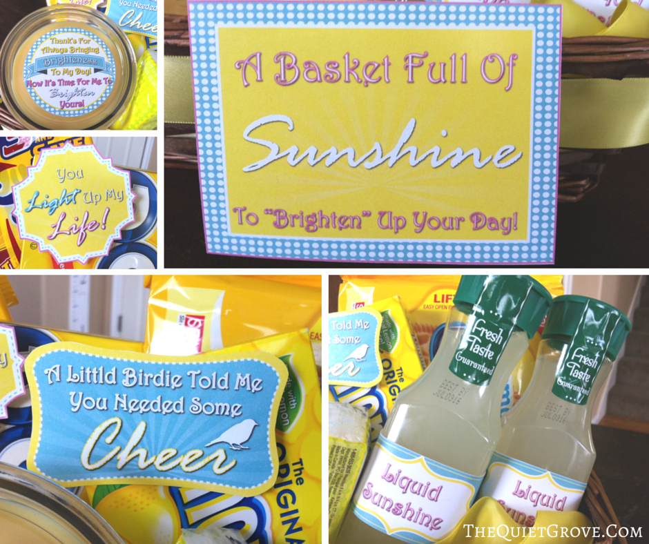 photo regarding Basket of Sunshine Printable identified as How toward Acquire Your Particular Sun Basket with Cost-free Printables