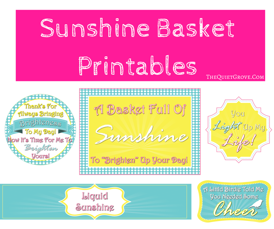 photo relating to Basket of Sunshine Printable known as How in the direction of Crank out Your Particular Solar Basket with Totally free Printables