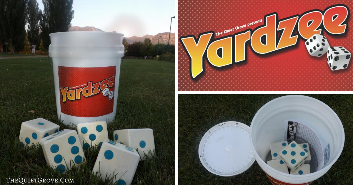 DIY Yardzee Set! ⋆ The Quiet Grove