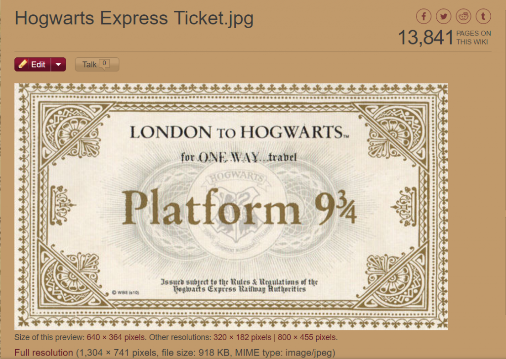 photograph about Hogwarts Express Ticket Printable identified as How in direction of Toss a Magical Harry Potter Halloween Bash! ⋆ The