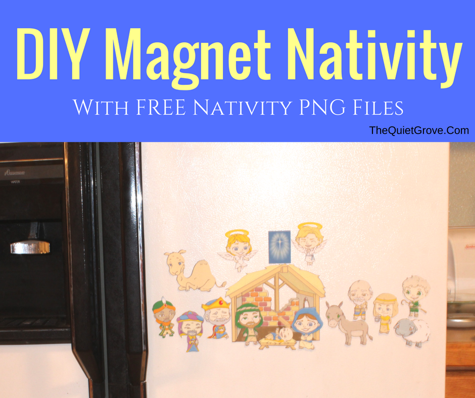 DIY Magnetic Nativity Set (With Free PNG Files) ⋆ The ...