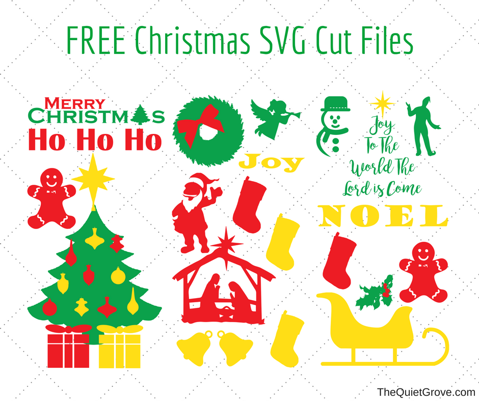 Download FREE Merry Christmas SVG Cut File (1) ⋆ The Quiet Grove