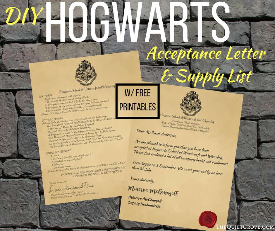 graphic about Printable Hogwarts Letter identified as Harry Potter Do it yourself Hogwarts Popularity Letter 1st Yr