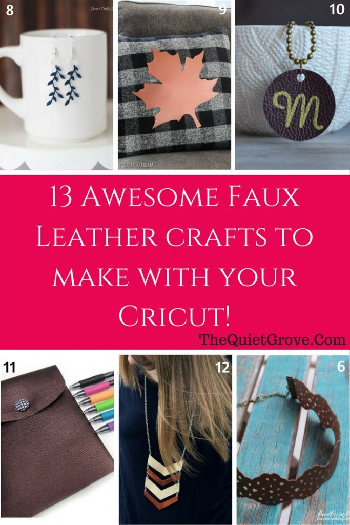 79 Diy Cricut Projects Using 12 Different Crafting Materials The Quiet Grove