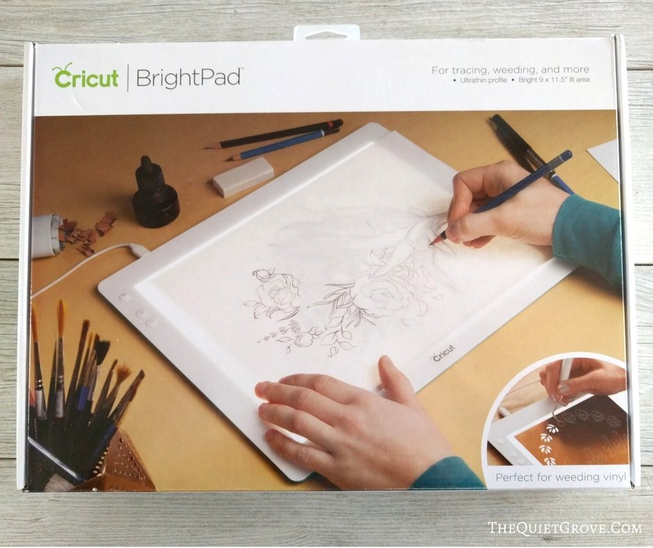 Is the Cricut BrightPad Worth the Cost? ⋆ The Quiet Grove
