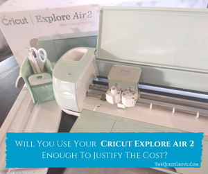 What is the Cricut Explore Air 2 & How Does it Work? ⋆ The