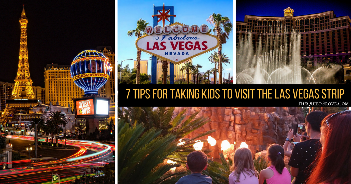 7 tips for taking kids to visit the las vegas strip the for Arts and crafts stores in las vegas