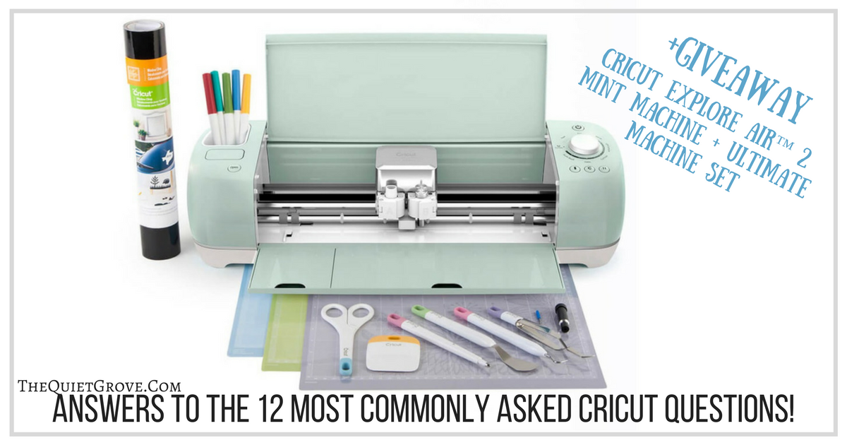 Answers To The 12 Most Commonly Asked Cricut Questions
