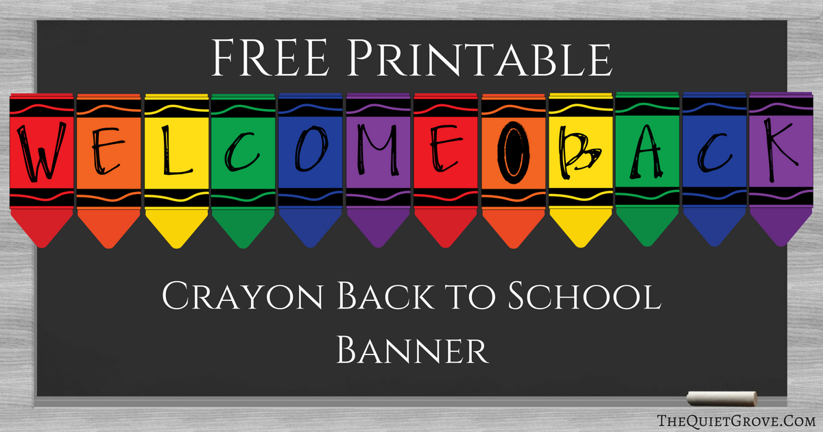 photo relating to Welcome Back Banner Printable identify Totally free Printable \