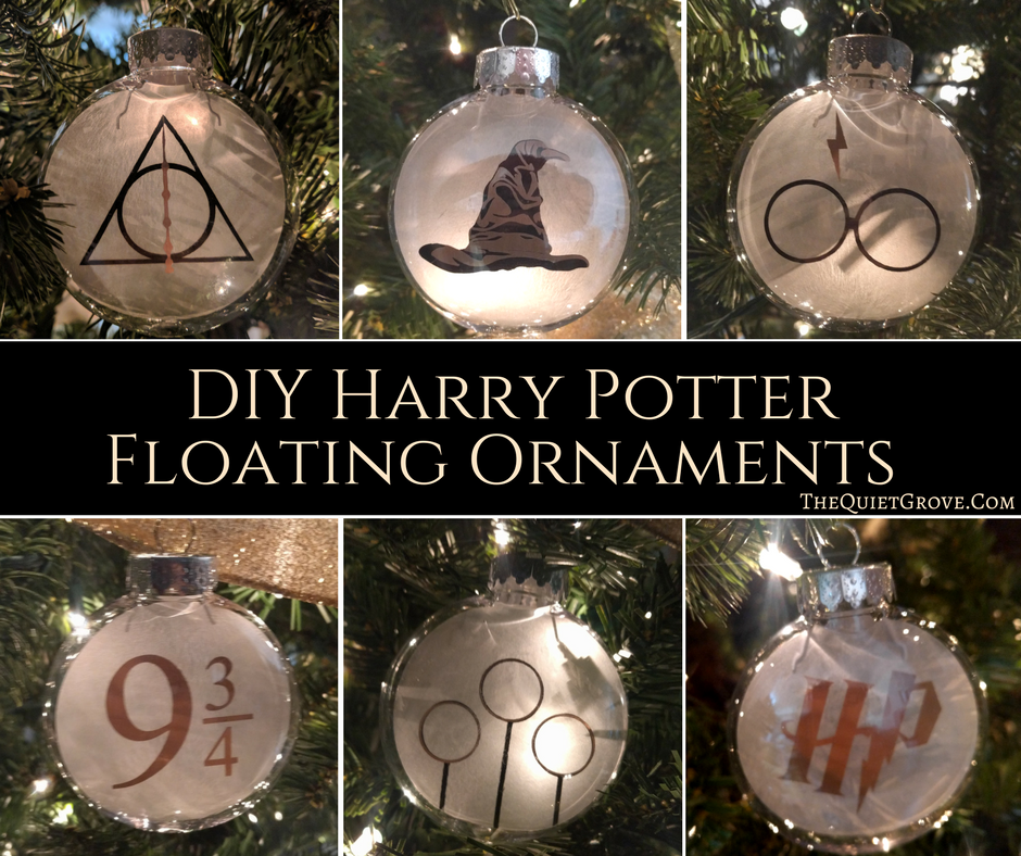 Diy Harry Potter Floating Ornaments The Quiet Grove