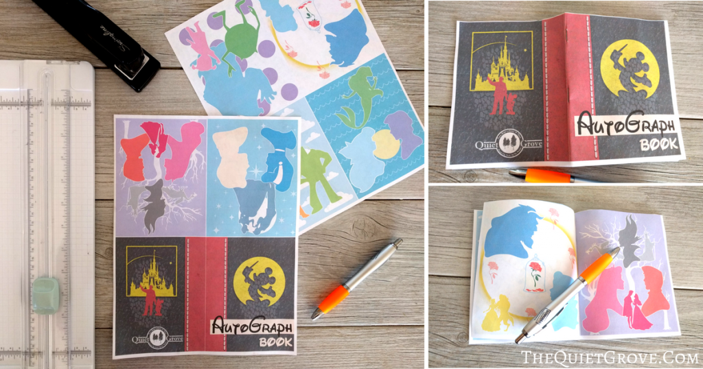 graphic about Printable Autograph Book for Students named Cost-free Printable Autograph E-book (For Your Up coming Disneyland