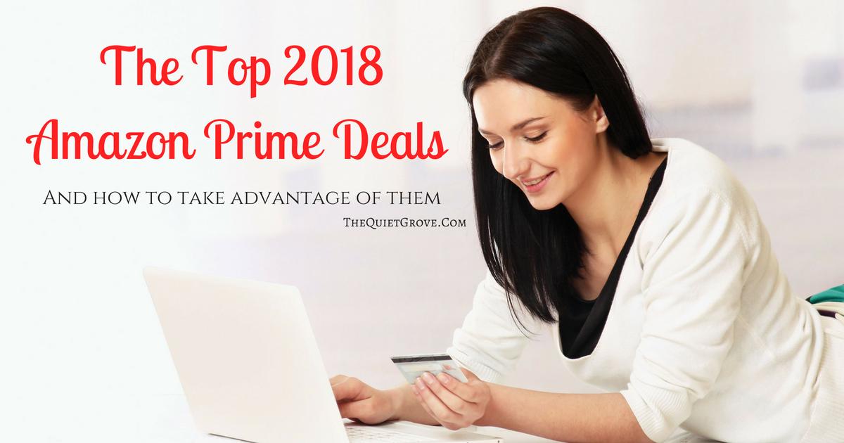 the top 2018 amazon prime deals the quiet grove. Black Bedroom Furniture Sets. Home Design Ideas