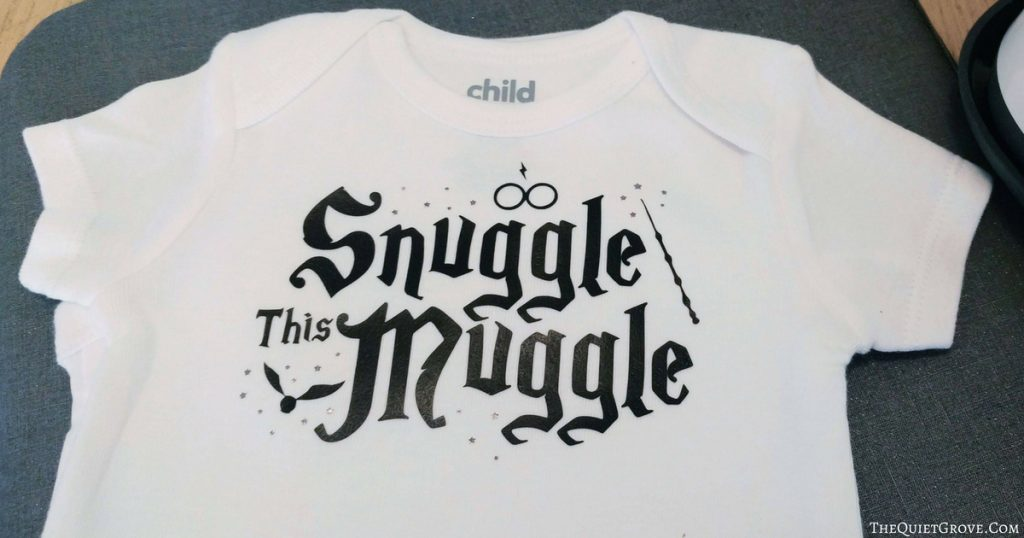 DIY Snuggle This Muggle Baby Onesie (With Free SVG Cut ...