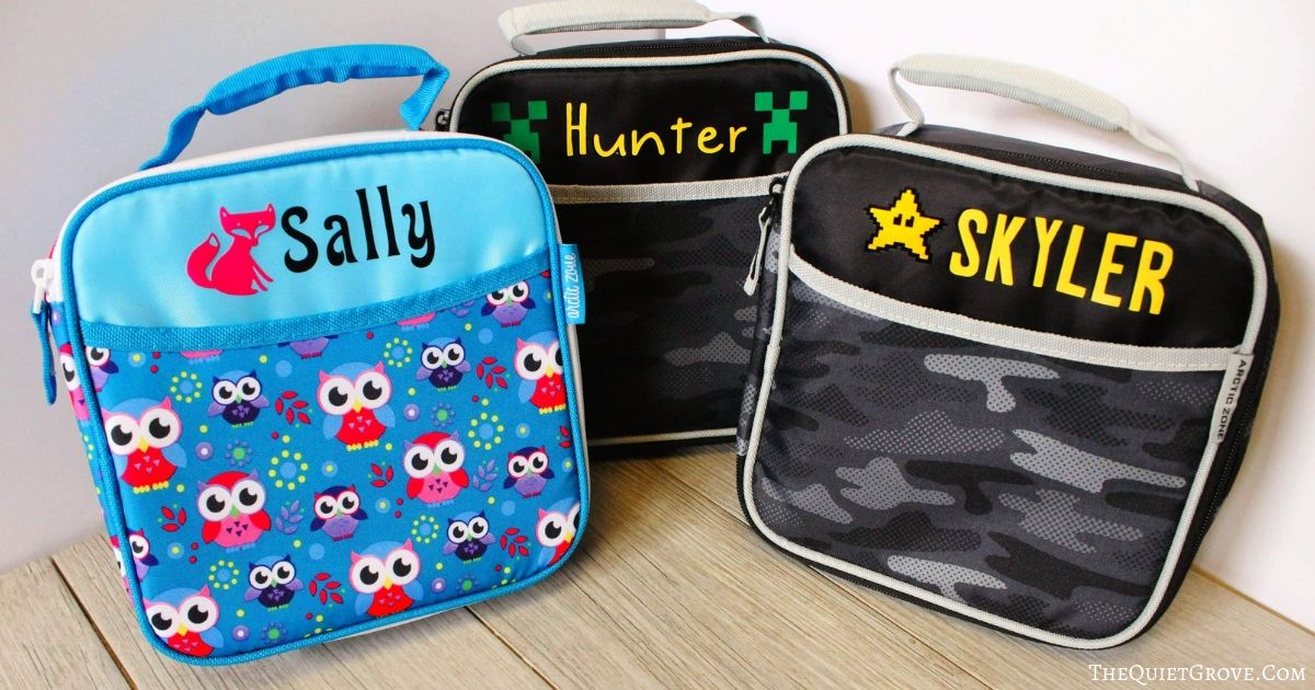 How To Customize & Label your Kid's Back to School