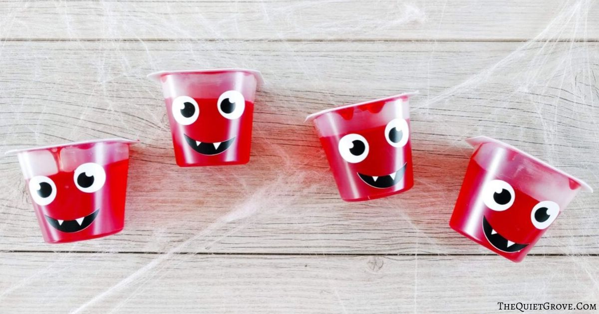 Easy Diy Jello Cup Vampires The Quiet Grove