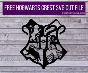 Harry Potter SVG Cut Files ⋆ The Quiet Grove